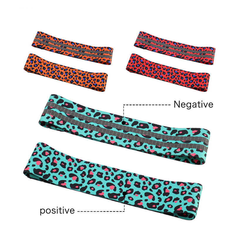 Ispisane leopardove trake za otpor kuka elastične trake za - Fitness i bodybuilding - Foto 5