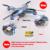 Syma x5hw fpv rc quadcopter zangão com câmera wi-fi 2.4g 6-axis vs syma x5sw atualização dron helicóptero rc toys com 6 bateria