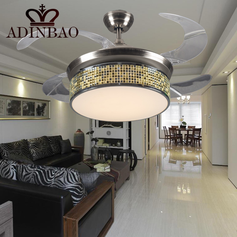 Chinese style small ceiling fan colorful edge lightweight acrylic chinese style small ceiling fan colorful edge lightweight acrylic fans with bright light xj065h in ceiling fans from lights lighting on aliexpress aloadofball Images