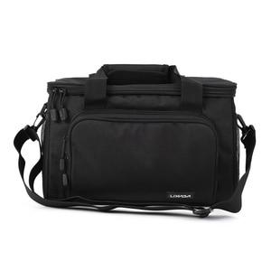 Image 5 - Мужская сумка для рыбалки Lixada, многофункциональная сумка на плечо, сумка для рыбалки, рыболовная катушка, сумка для хранения, рыболовная снасть 37*25*25 см