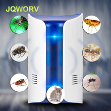 Indoor Electronic ultrasonic wave Pest Repeller Double speaker Night light Intelligent frequency pest reject mouse cockroach
