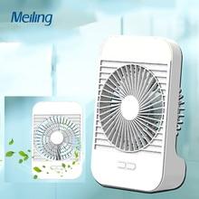 Rechargeable Usb Mini Fan Speed Controlled Fan Mini Cooler Low Noise 3 Gear Adjustment Low Noise Desk Fans