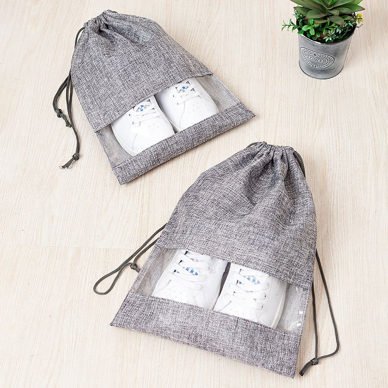 Travel Accessories Drawstring Bag Women Men Dustproof Shoe Bag Pouch Storage Portable Drawstring Bag