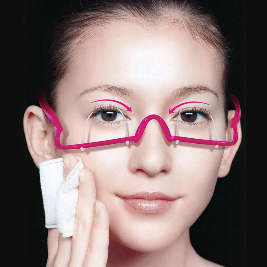 Avoid Surgery Japanese Double Eyelid Trainer Exercise The Big Eyes Double Eyelid Glasses Artifact Lasting Beauty Makeup Tools