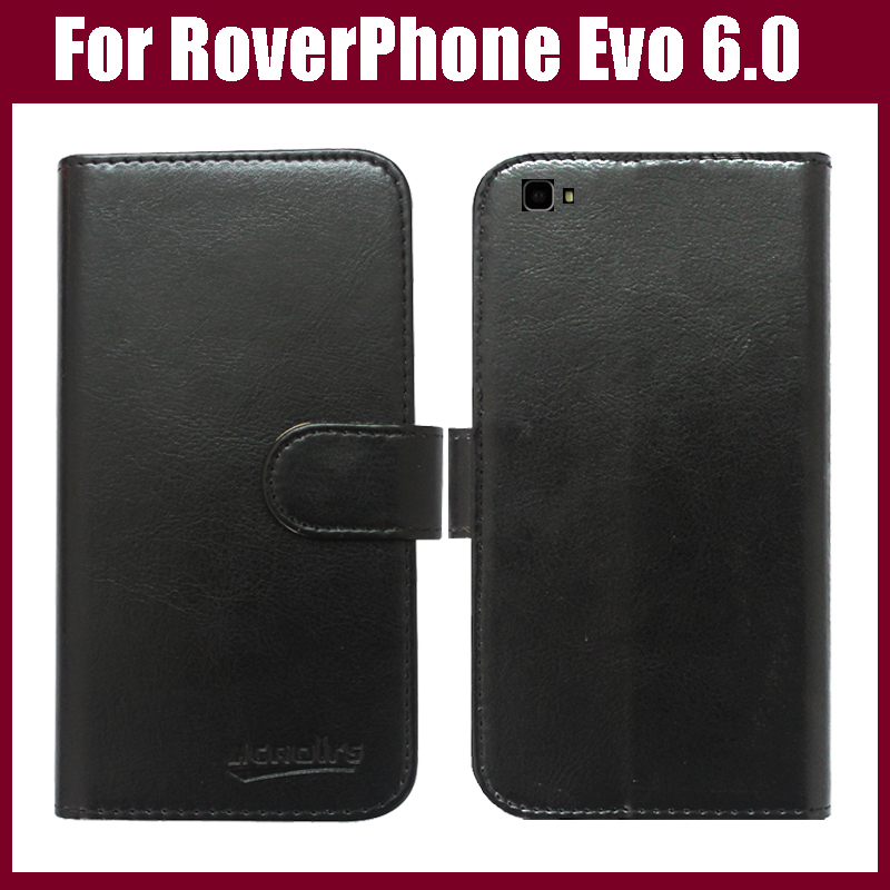 Funda de cuero de lujo con tapa para teléfono RoverPhone Evo 6.0 - Accesorios y repuestos para celulares - foto 1