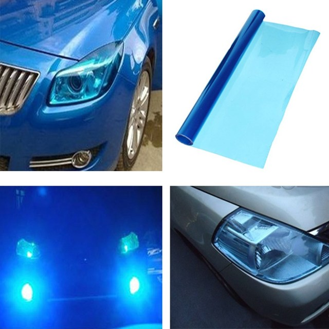 Headlight Taillight Fog Light Vinyl Tint Film