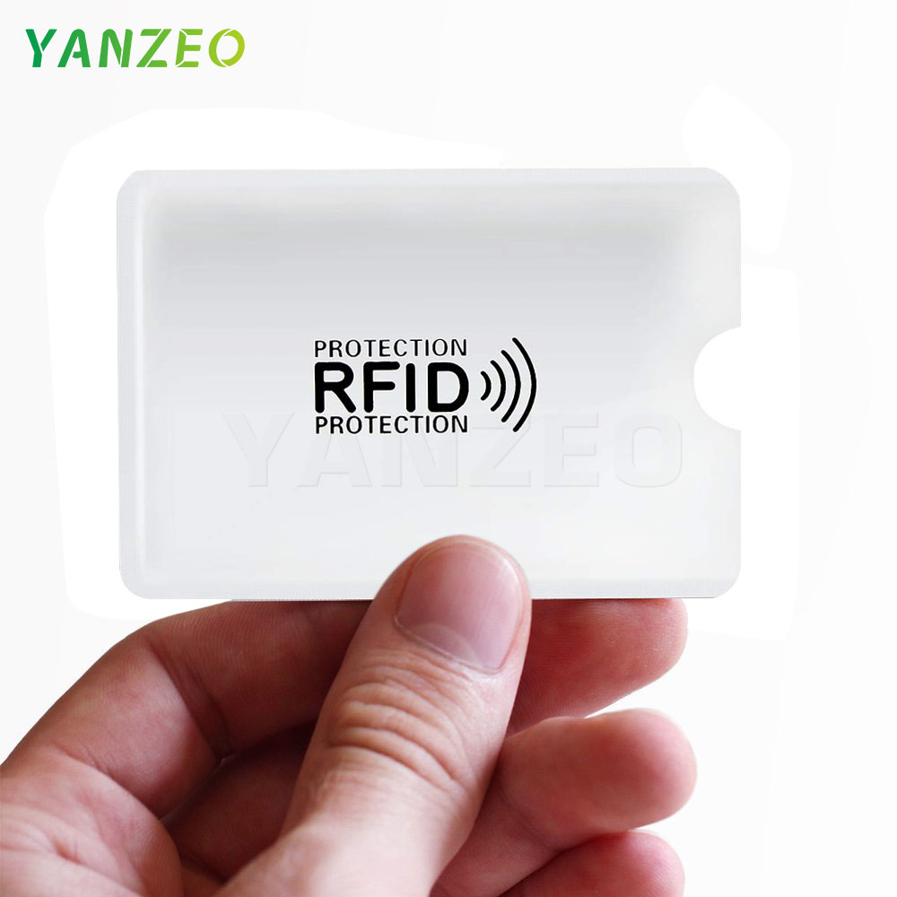 Yanzeo RFID Shielded Sleeve Card Blocking 13.56mhz IC Card Protection NFC Security Card Prevent Unauthorized ScanningYanzeo RFID Shielded Sleeve Card Blocking 13.56mhz IC Card Protection NFC Security Card Prevent Unauthorized Scanning