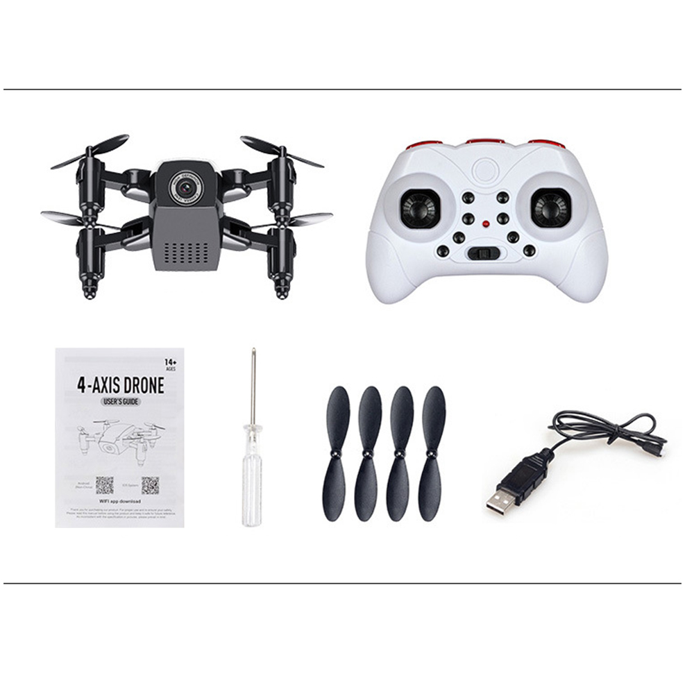 S9HW Mini Drone With Camera S9 No Camera Foldable RC Helicopter Altitude Hold RC Quadcopter WiFi FPV Micro Pocket Dron Boy Toys 8