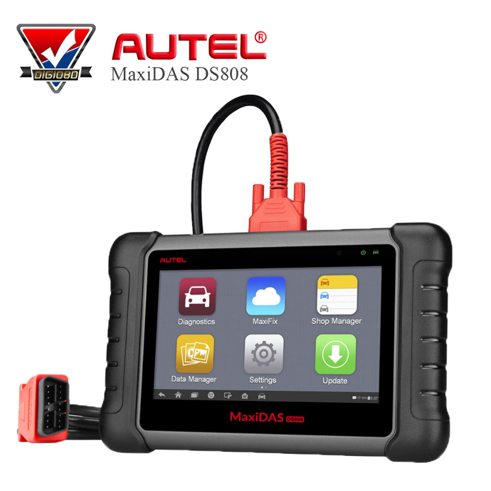 Autel MaxiDAS DS808 Full System Automotive Diagnostic and Analysis System with live data ECU programming Key Coding TPMS Pro agricultural land suitability evaluation and analysis
