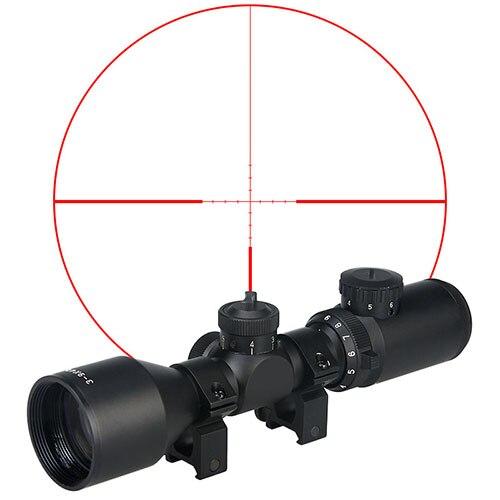 PPT 3-9x42 Rifle Scope 25.4mm Tube Diam Airsoft Pistol Hunting Scope Gs1-0274
