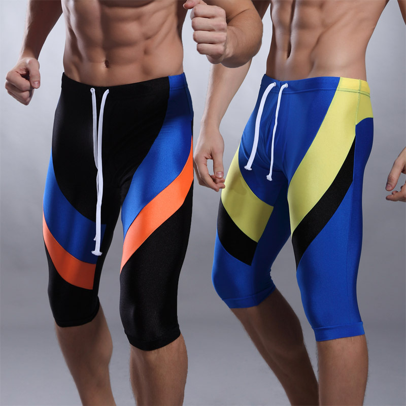 6de44f90279 Online Shop Men's high quality swim trunks, knee length patchwork beach  shorts, free shipping | Aliexpress Mobile