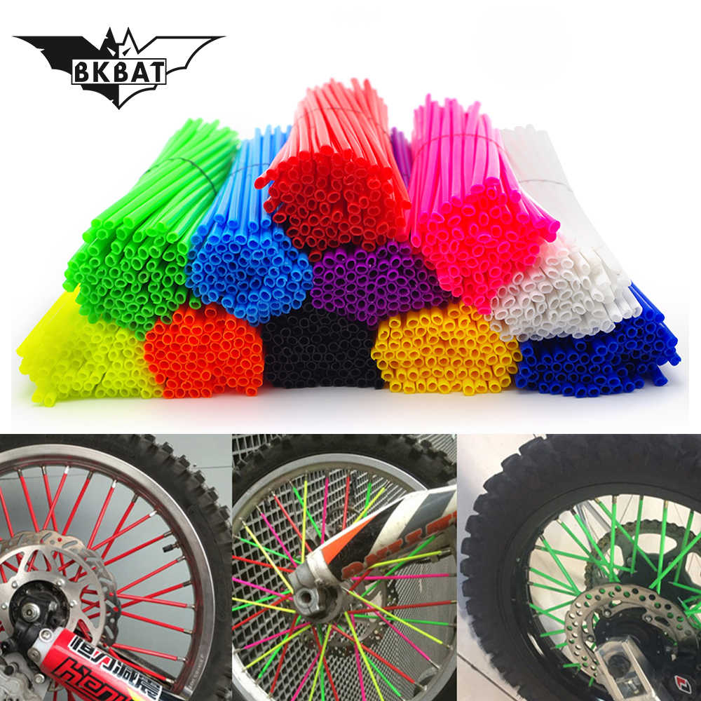 36 stks moto Velgen Sprak Tube Band band Scooter Fiets Elektrische moto rcycle Voor couvre rayon jante moto crf450x dualtron yz 125