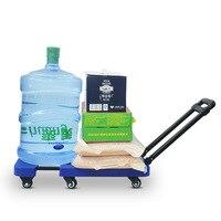200 кг складывая тяжелый багаж автомобилей складные телескопические тележки складные Портативный ручной тележки Чемодан Прицепы тележка су