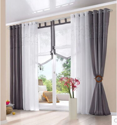Amazing Aliexpress.com : Buy 140cmW Europeanism White Brown Grey Color  Tulle/yarn/voile Blind Curtains For Living Room,top Grade Window Sheer  Panels Curtain From ...
