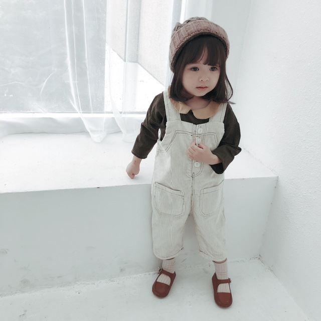 49214e2d18e 2018 Toddler Overalls Baby Girls Corduroy Pants Boys Overalls Cute  Jumpsuits Outfits For 1-5 Years Kids
