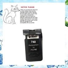 1 unids para canon pg 740 cartucho de tinta para canon mg2170 3170 4170/mx517