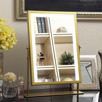 Hollywood led Touch Screen Makeup Mirror Professional Vanity Mirror Lights Health Beauty Dimming Light