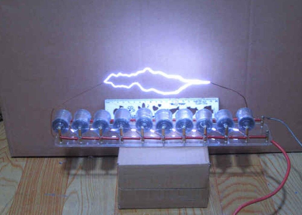 new arrival 10grades Marx/impulse voltage/pulse high voltage generator/Tesla coi