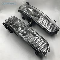 Soarhorse Car Front bumper fog lights Fog Lamp include light bulb For Hyundai accent 2006 2007 2008 2009 2010