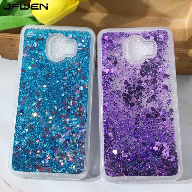 buy popular bd319 59fe4 US $2.72 30% OFF|JFWEN Glitter Liquid Phone Cases For Samsung Galaxy J4 J6  Plus 2018 Case Cover For Samsung J6 J4 2018 Plus Case Silicone Coque-in ...