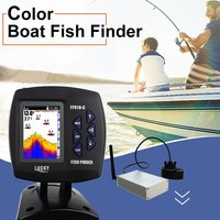 LUCKY FF918 CWLS Portable Waterproof Boat Fish Finder With Colored Screen Display Sonar Sensor 300M Remote