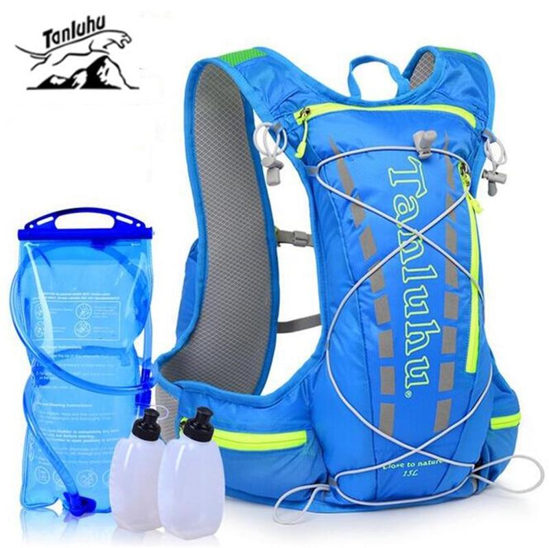 TANLUHU 15L Backpack Running Men Women Lightweight Marathon Fitness Hydration Vest Pack Outdoor Sport Hiking