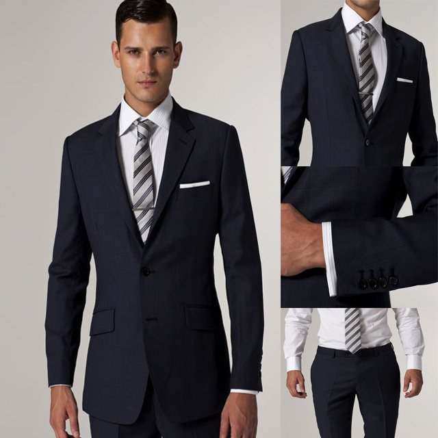 Wedding Party Dresses Fasion Mens Suits with Pants Terno