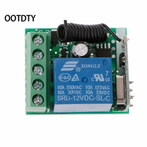 Image 5 - Универсальный беспроводной пульт дистанционного управления 315 м или 433 м, 12 В постоянного тока, 1 канальный релейный модуль приемника + 2 радиочастотных передатчика