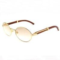 Oval Shades 2018 Women Luxury Mens Sunglasses Brand Designer Carter Glasses High Quality Vintage Sunglass Men Fill Prescription
