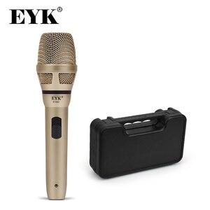 Image 1 - Eyk EVM2/EVM2H Dynamische Draad Microfoon Met Plastic Case !! Opname Broadcasting Dj Karaoke Party Meeting Kerk Wire Mic