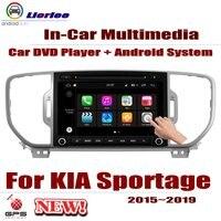 DVD плеер автомобиля для KIA Sportage (QL)/KX5 2015 ~ 2019 gps навигации Android 8 Core A53 процессор Радио BT SD USB AUX wi fi