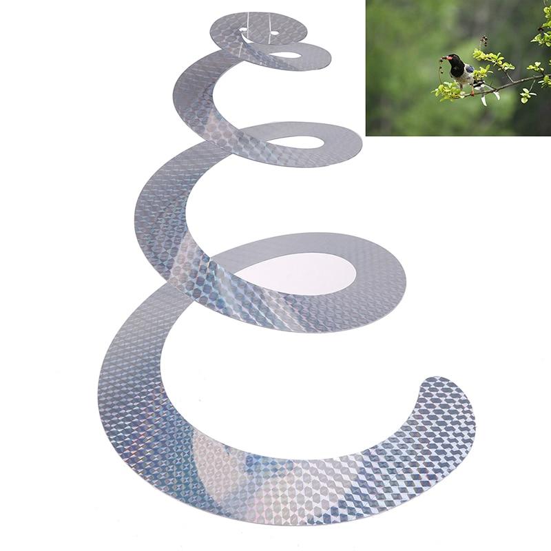 1 Pc Bird Scare Tape Reflective Pigeons Ribbon Repellent Tape Deterrent Tapes Discs Control Bird Scarer PVC Pest Control