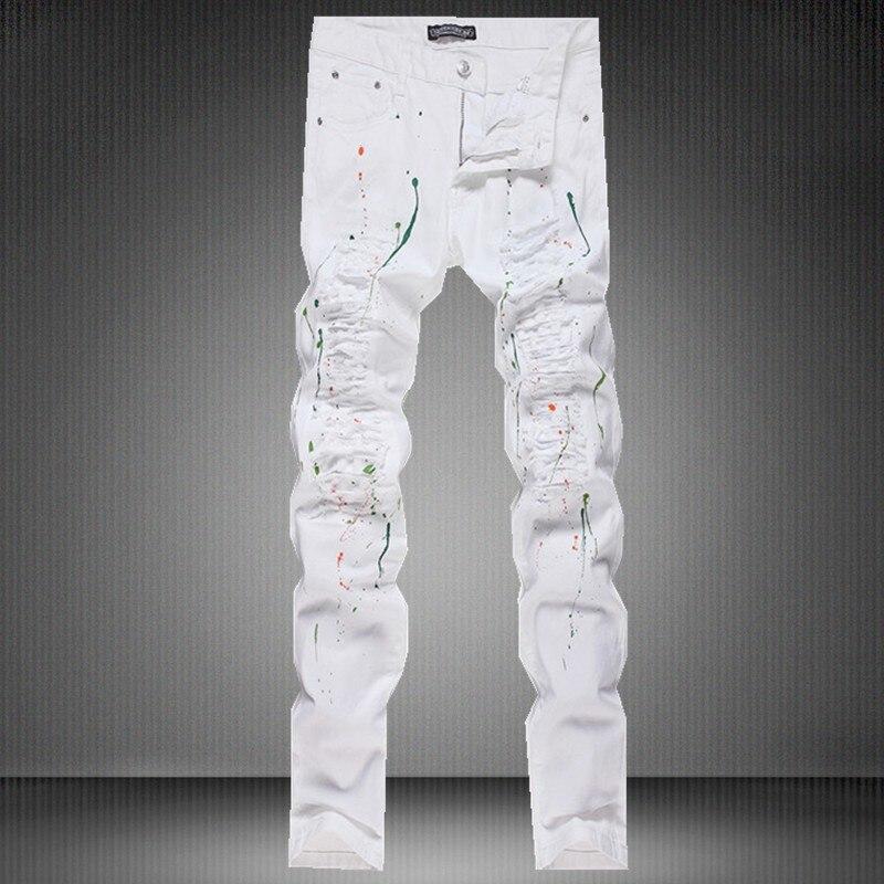 Aliexpress.com : Buy Cheap Jeans China New Fashion Ripped Printed ...