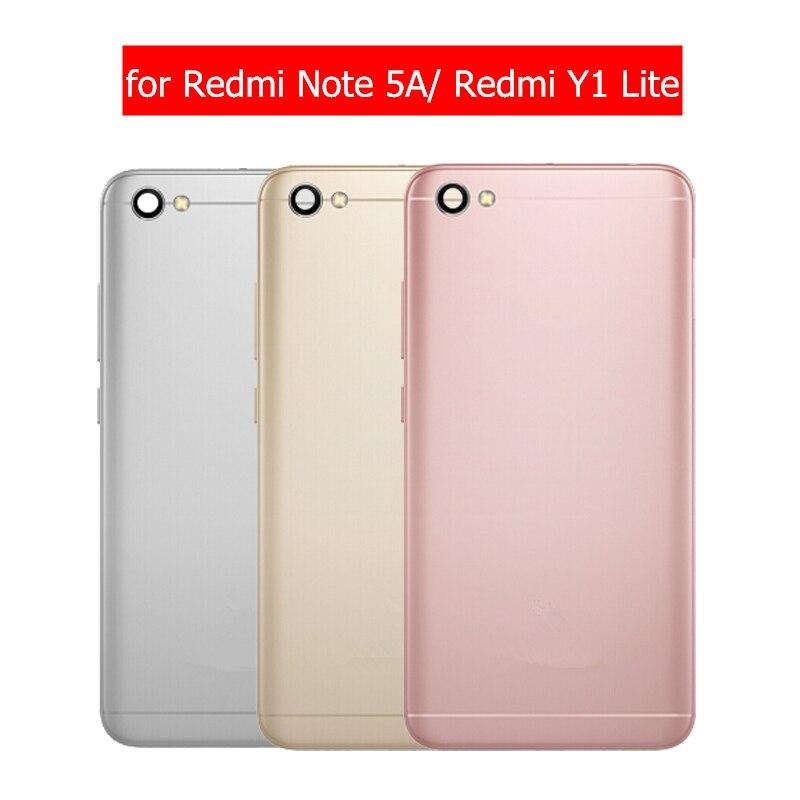 Housing Battery Back-Cover Door-Camera Glass-Lens Note Repair-Spare-Parts Xiaomi Redmi