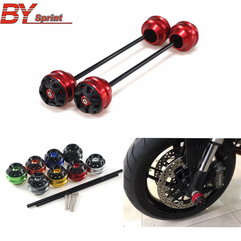 For SUZUKI GSX S1000 GSXS1000 2015 CNC Modified Motorcycle Rear wheel drop ball / shock absorber