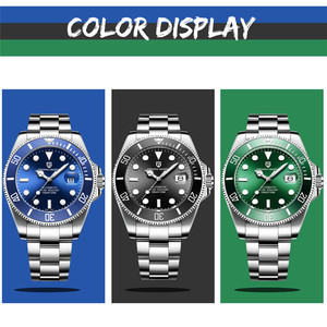 Image 5 - PAGANI Design Brand Mens Watches Luxury Automatic Watch Men Stainless Steel Waterproof Business Mechanical Watch reloj hombre