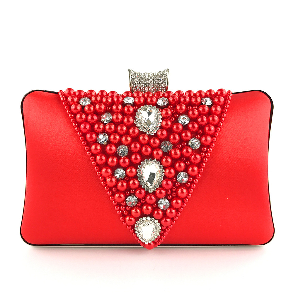 Vintage Day Clutch with Special Design for Wedding and Party, Elegant Messenger Bag with Removable Chain цена