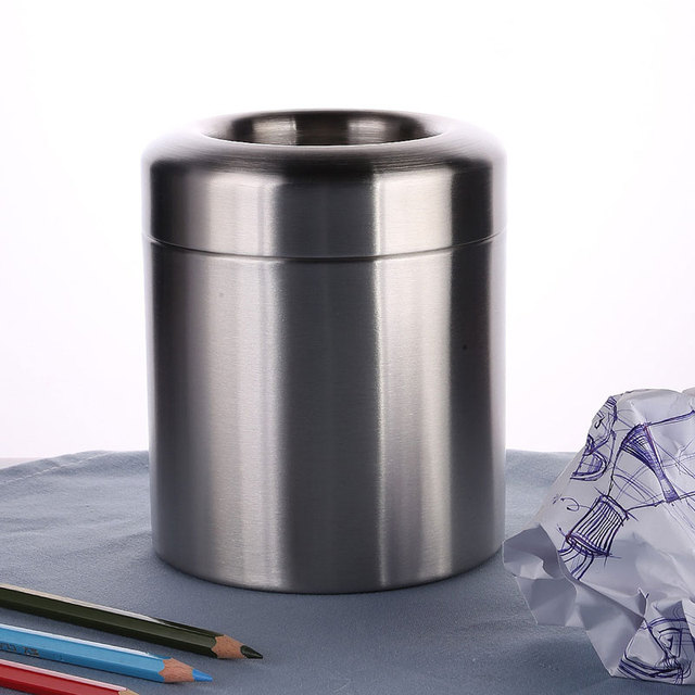 Mini Trash Can For Desk With Can Small Tiny Countertop Trash Bin Can