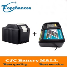 High Quality 18V 4.5Ah Replacement Power Tool Battery for Makita 194205-3 194309-1 BL1845 BL1830 LXT400+Charger