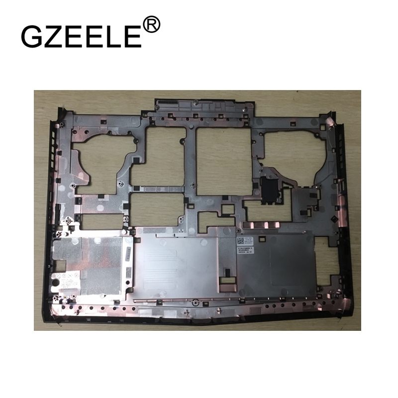 GZEELE New Laptop Replace Cover For DELL Alienware 17 R4 Laptop Bottom Base Cover lower case gzeele new laptop bottom base case cover for hp for elitebook 8560w 8570w base chassis d case shell lower case 652649 001 black