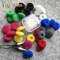 20 pcs 18mm Esponja de Espuma almofadas de ouvido para fones de ouvido Bluetooth Fones De Ouvido fone De ouvido de Reposição Almofadas Covers MP3 MP4 Moblie Telefone