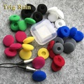 20pcs ear pads for headphones Foam 18mm Sponge Bluetooth Earphones Replacement earphone Earpads Covers MP3 MP4 Moblie Phone
