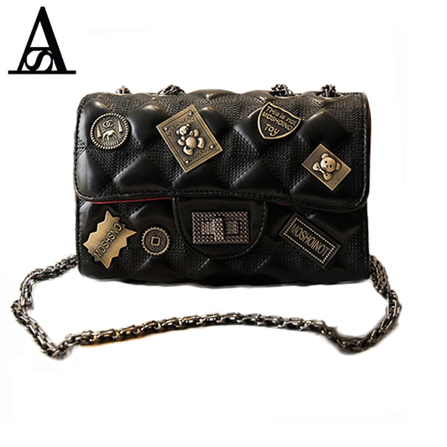 866fa9deba15 AITESEN Women Diamond Lattice Messenger Bags Handbags Women Famous Brands  Bolsas Feminina De Carteras Mujer De Hombro Louis Bags