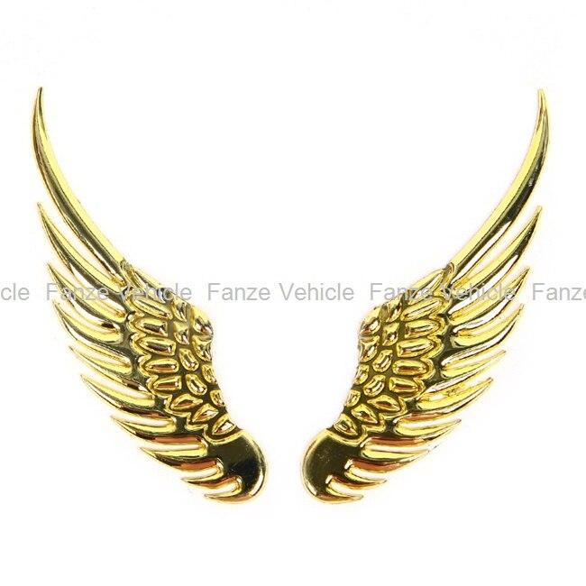 Free Shipping New Universal Vehicle Car Angel S Wings 3d Car Emblem