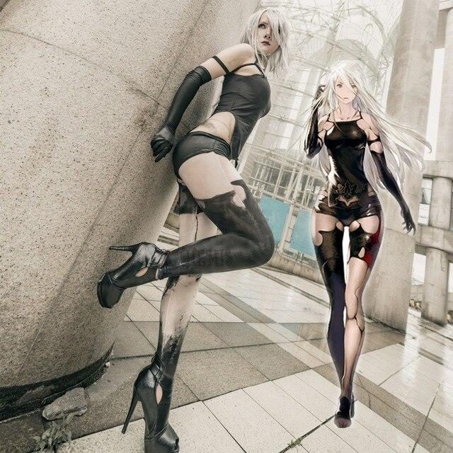 Athemis NieR Automata Cosplay Costumi YoRHa No. 2 Tipo di UN costume cosplay