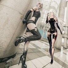 Athemis nier automata cosplay trajes yorha n° 2 tipo a cosplay traje