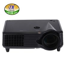 Todos Ganan TL268 Vídeo Proiettore LED Full HD Multimedia Proyectores de Cine En Casa 2000 lúmenes viga 800*480 con 23 idiomas