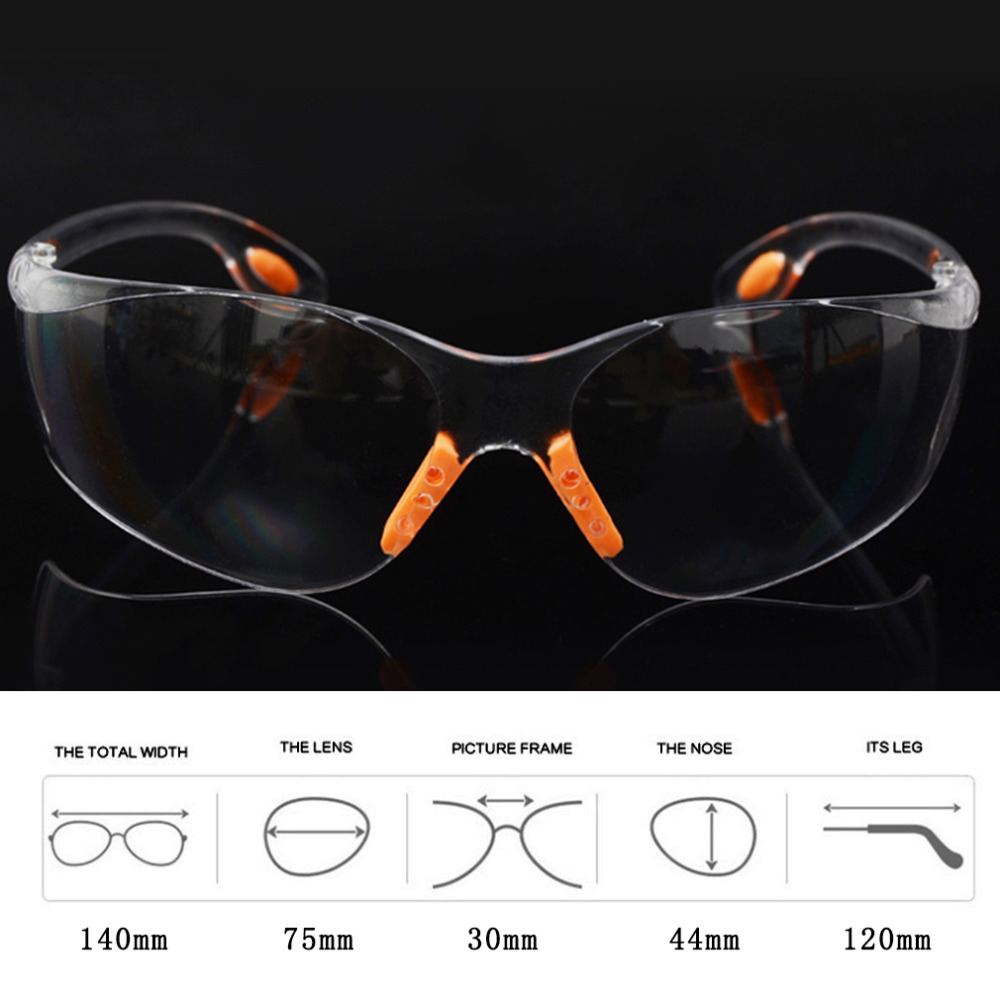 Comfortable Soft Silicone Nose Clip Outdoor Safety Eye Protective Goggles Glasses Tactical Sports Protective Glasses Hot Sale