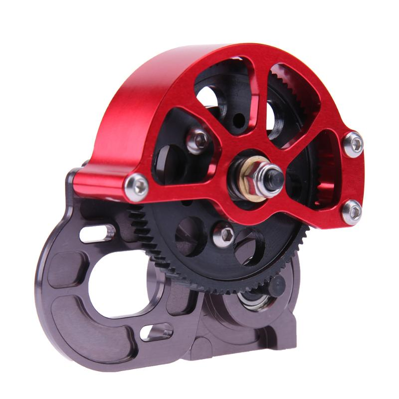 Climbing Car Gearbox Gear for AXIAL SCX10 Vehicle Part with Anti-Dust Cover for Axial SCX10 CC01 F350 D90 RC4WD brand car loncin zongshen lifan tricycle motorcycle gearbox or shift gearbox for 150 200cc motorcycle powerful gearbox chuanyu brand