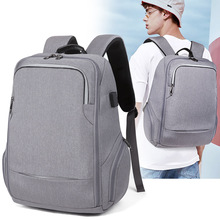 New Business Computer Backpack Travel Waterproof Mens Usb Rechargeable Student Function Bag